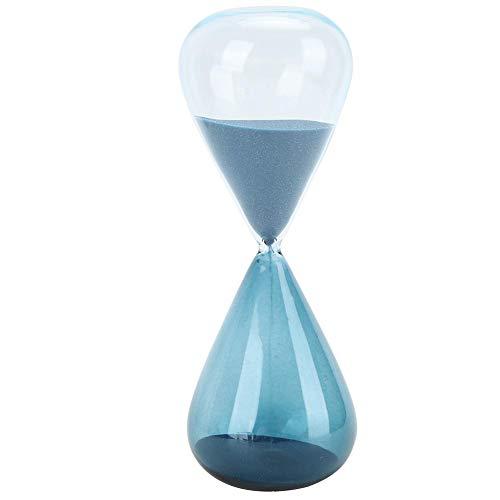 Reloj de arena con temporizador de arena, innovador reloj de arena con forma de cono Decoraciones de regalo de escritorio de vidrio de arena para oficina en casa(S)