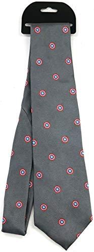 Disney Parks - Cravatta in seta con scudo di Capitan America