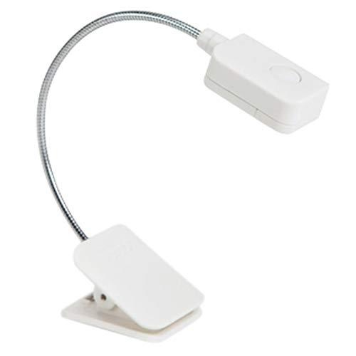 Lynn025Keats - Lámpara de lectura con pinza (luz regulable, para el cuidado de los ojos y luz de aprendizaje)