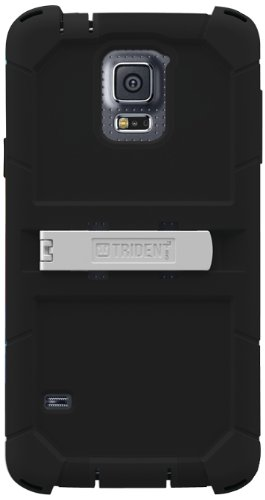 Trident Kraken AMS Series Case for Samsung Galaxy S5 - Retail Packaging - Black
