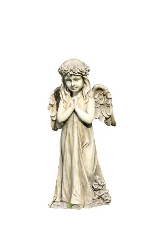 Napco Little Girl Praying Angel with Wings Garden Statue -  Napco, Inc. - Lawn & Garden, 19919