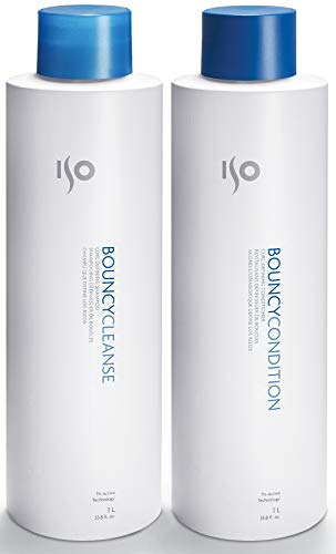 ISO Bouncy Cleanse & Condition Curl-Defining Set, 33.8-Ounce