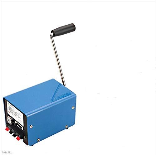 XHUENG Nützlich Im Freien beweglichen manuellen Handkurbel-Generator USB Lade Elektrischen Dynamo Electric Power Dynamo Strom