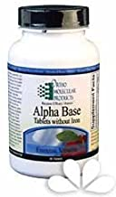 Ortho Molecular Alpha Base Tablets w/o Iron