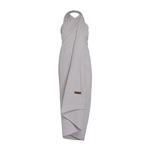 Knit Factory Pareo/strandlaken Liv grijs - rechthoekig, 180 x 130 cm