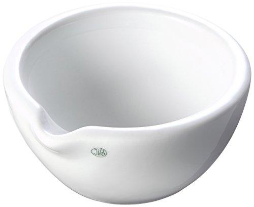 neoLab E-1136 - Mortero de porcelana con boquilla (110 x 55 mm, 110 ml)