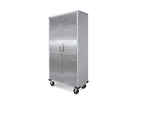 UltraHD Tall Storage Cabinet - Stainless Steel 2 Pack