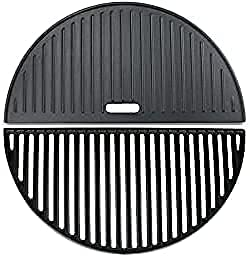 Uniflasy Super special price 18 Inch Half Discount is also underway Moon and Cooking Grate Reversibl