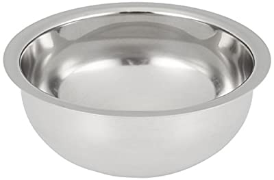 Edwin Jagger Contemporary Chrome-Plated Shaving Soap Bowl