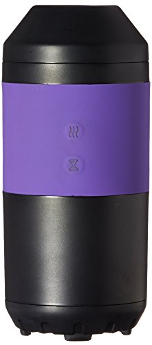 ZAQ Tour Essential Oil 60 ML Litemist Aromatherapy Travel Car Diffuser, Purple