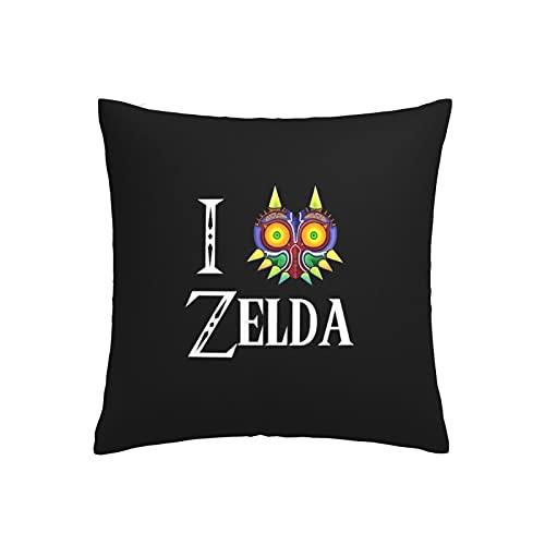 Matasleno Legend of Zelda Links Awakening - Funda de almohada para videojuegos, diseño elegante con temática de juego, funda de almohada decorativa para el hogar