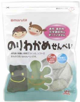 太田油脂 MS 砂糖不使用 のりわかめせんべい 27g x 8袋