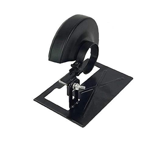 Lankater 1pc Amoladora Angular de Corte Especial Soporte de Seguridad Escudo Herramienta Amoladora Angular Paddle Interruptor de reparación Herramientas Accesorios de Seguridad Negro