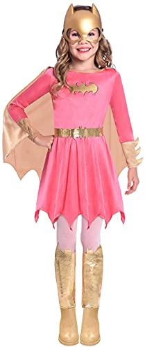 amscan 9906731 Déguisement de Batgirl Warner Bros pour fille Rose 8-10 ans