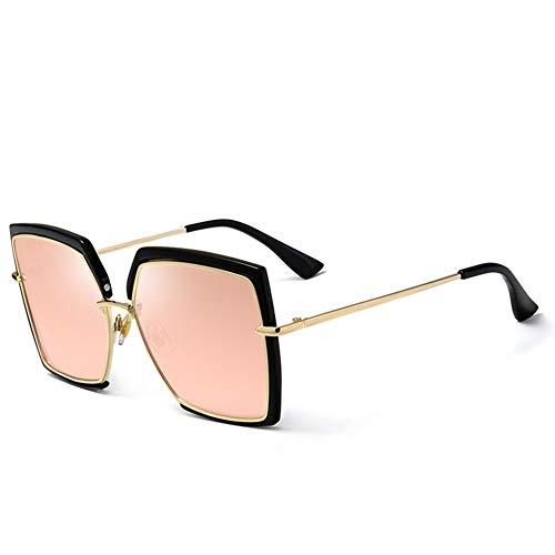 ShawnBlue , Las Nuevas señoras de Gafas de Sol, Gafas de Moda del Ojo de Gato, Parasol for el Recorrido al Aire Libre (Size : C6 Barbie Powder)