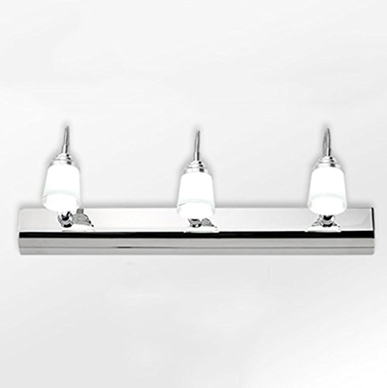LED-Spiegel vorne Licht Edelstahl Badezimmer Beleuchtung Spiegelschrank Lampe Wandleuchte Make-up-Leuchten