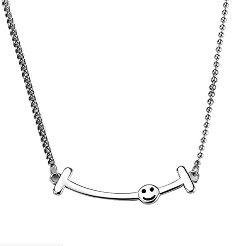 XDY Collar Femenino Creativo Hacer Viejo Cadena Cadena Thai Silver Retro Niche DesignNEC