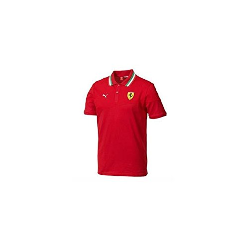 Ferrari Polo Homme Rouge Taille S