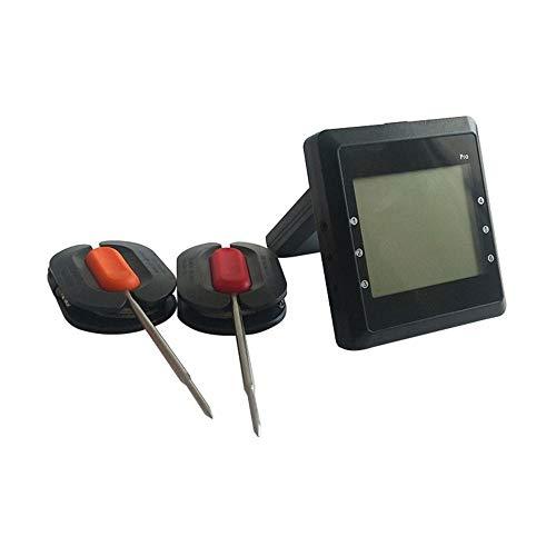 Termómetro inalámbrico Bluetooth para carne Termómetro digital para barbacoa Termómetro para parrilla de lectura instantánea Temporizador Alarma para cocinar Ahumador Cocina Parrilla Horno