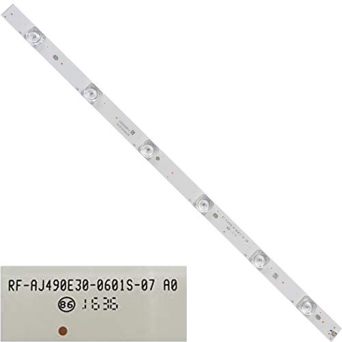 LED-Streifen, 6 LEDs, RF-AJ490E30-0601S-07 A0, Sharp LC-49CUF8472ES