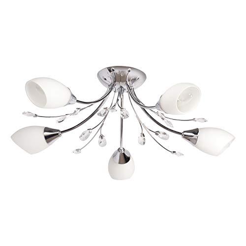 lampadario soggiorno vetro Classica lampada da soffitto in cristallo