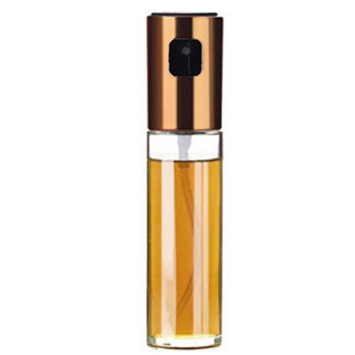 Preisvergleich Produktbild BFORS Kraftstoffinjektionsflaschen,  Ölnebel Öler Menage tragbaren Grill Kochspray Tanker,  Grill,  Salate,  gegrilltes Ölflaschen, Gold