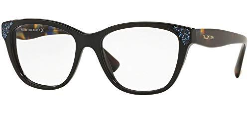 Gafas de Vista Valentino VA 3008 Black Blue 53/16/140 mujer