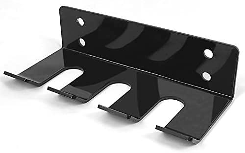 Titular de la barra de servicio pesado - Montaje en la pared Barra olímpica Barbell Almacenamiento - Rack de montaje vertical de barbell - Barbell ...