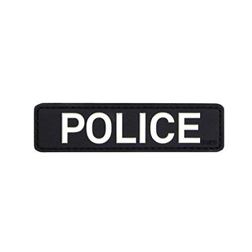 Patch Aufnäher Police Polizei Politie Einsatz Spezialeinheit Wachmeister Sek Klett Militär Abzeichen Emblem 2,5x9cm #20284