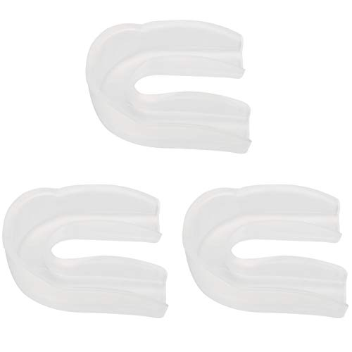 DAUERHAFT Protector bucal moldeable de Grado alimenticio para Boxeo Protector bucal Inodoro para Deportes