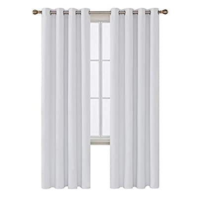 Deconovo Thermal Insulated Blackout Grommet Window Curtain Panel For Living Room