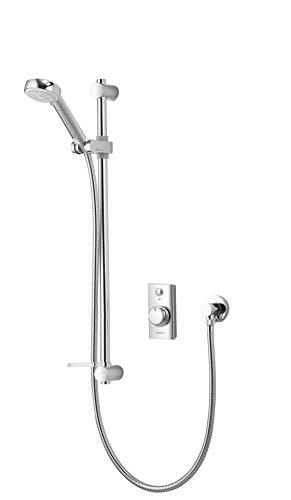Aqualisa Visage digital shower (concealed) with adjustable handset - with integral pump for gravity fed systems
