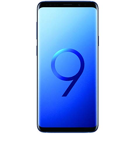 Samsung Galaxy S9, 64GB, Coral Blue - Fully Unlocked (Renewed)