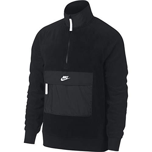 Nike M NSW Top Hz Core Wntr SNL Sweatshirt für Herren XL Nero/Nero/Bianco