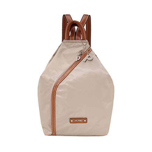 Picard Sonja Backpack Damenrucksack Daypack M aus Synthetik mit Reissverschluss, Schultertasche, Zipperfach 8 Liter 31,5 x 29 x 9 cm (H/B/T) Damen (2062)