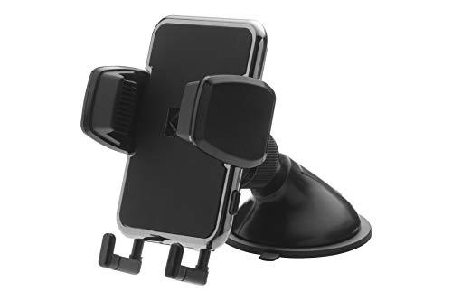 Kodak Handyhalter fürs Auto Slim Verstellbarer Klemme fürs Handy Saugnapf Platzierung auf dem Armaturenbrett. Einstellbarer Winkel und Richtung für eine bessere Sicht auf das Telefon