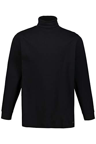 JP 1880 Herren große Größen Rollkragen-Shirt schwarz XXL 723303 10-XXL