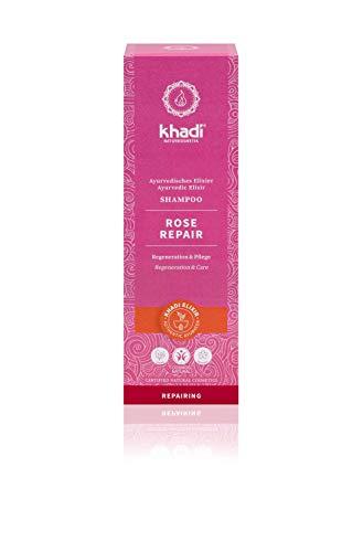 Khadi Shampooing Ayurvédique Rose Repair 200ml