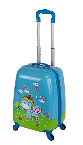 Travelhouse Happy Childreen - Maleta con ruedas para niños, varios tamaños y colores