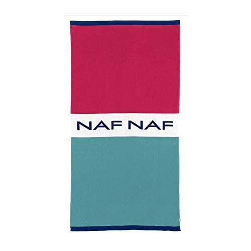 NAF NAF Toalla de playa MOOREA - 100% Algod�n - Multicolor - 80 x 160 cm