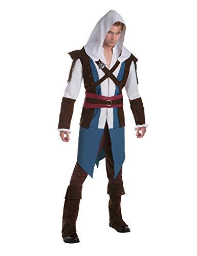 Palamon Déguisement Classique Edward - Assassin's creedAdulte