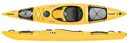 Prijon Enduro 380 kurzes Kajak mit Luxusausstattung Allrounder-Kajak, TOP, Prijon Farben :gelb, Prijon Ausstattung:mit Steueranlage