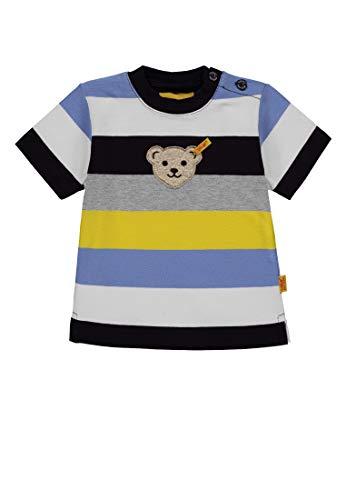 Steiff Steiff Baby-Jungen 1/4 Arm T-Shirt, Mehrfarbig (Y/D Stripe|Multicolored 0001), 62