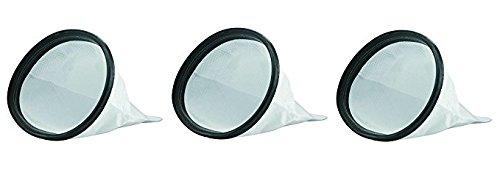 Hoover Commercial 2KE2105000 HEPA Cloth Bag Liner for Shoulder Vac Pro Vacuum Cleaner (Pack of 3)