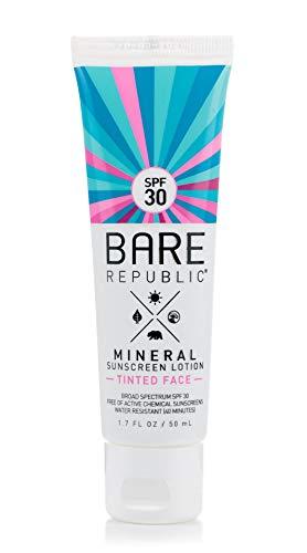 Bare Republic SPF 30 Mineral Face Sunscreen Lotion