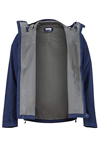 Marmot Men's Minimalist Lightweight Waterproof Rain Jacket, GORE-TEX with PACLITE Technology, Arctic Navy, Large