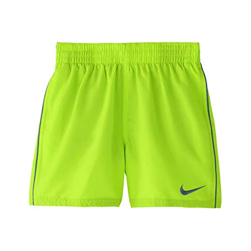 """Nike Solid Lap Volley Short 4\"""" -Lbf4 Ness9654 Badehose Kinder S rot (Volt Glow)"""