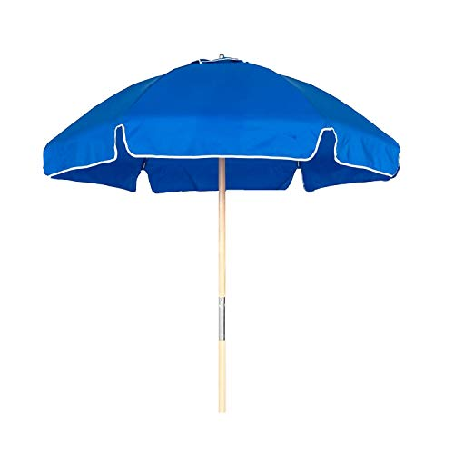 Frankford Umbrella Shade Star 6.5 ft. Steel Beach Umbrellas with...