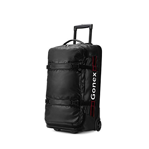 Gonex Wheeled Duffel Bag 70L Foldable Water-Repellent Rolling Travel Bag with Wheels Carry On Luggage with Rollers Unisex