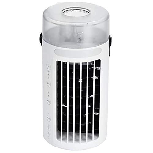 Air Conditioner Fan Cooler Mini USB Fan Refrigeration Small Air Conditioner Portable Atomizer Desktop Electric Fan